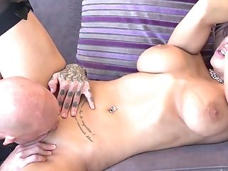Black-haired Lylith Lavey And Hot Blooded Boy Have Oral Hook-up For Camera For You To Witness And Love