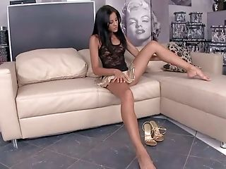 Anita Pearl Is A Sexy Slender Brown-haired With Lengthy Slender