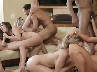 Memorable Orgy Of The Most In Demand Adult Movie Stars In Brazzers Mansion