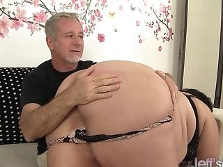Wild Fat Tasty Jazmynne Penalized With A Spanking Before Getting Plowed