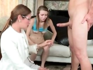 Blowage Lesson For Youthful Ava Hardy