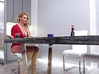 The Food And Foot Worship Before Fuck-a-thon Is Very Welcome For Phoenix Marie