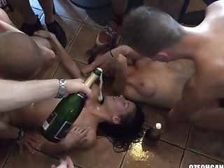 Dirty Soiree Gang-fuck With Czech Crazy Twins