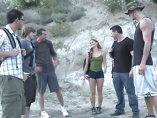 Scarlett Wild Gets Fucked Rough By Her Old School Friends