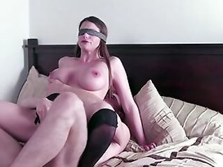 Unsighted Folded Wifey Hard Fucked By One Of Her Hubby's Friends