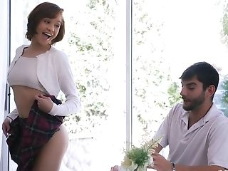 Sexy College Girl Cadey Mercury Likes A Dick More Than Anything Else