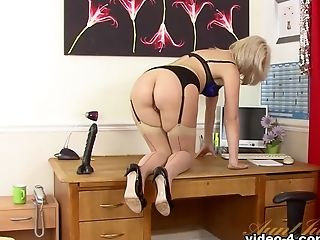 Amazing Sex Industry Star Anna Joy In Exotic Fuck Sticks/fucktoys, Stockings Adult Scene
