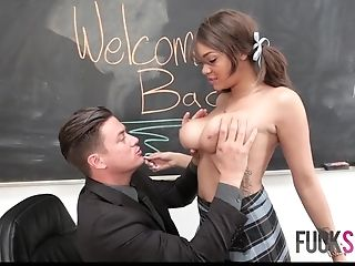 Cassidy Banks In Tutors Assistant Gets Fucked