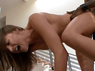 Brown-haired Tori Black Gets Ploughed By Hot Boy The Way She Loves It In Interracial Porno Activity